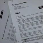 Bild på a-kassebrev