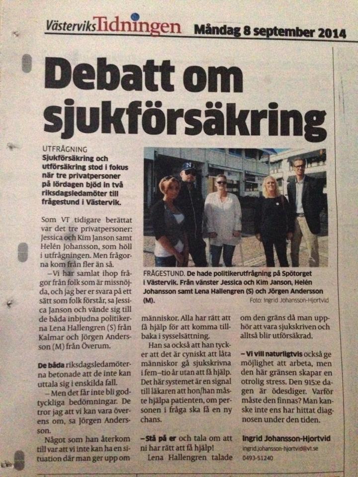 Tidning!
