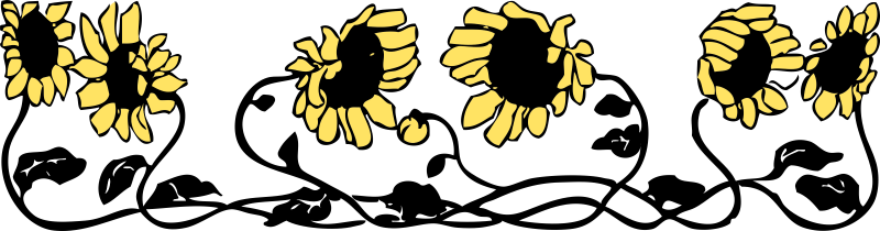 johnny-automatic-sunflower-border-2