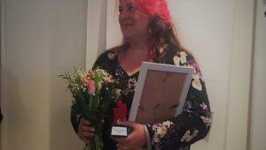 Solrosuppropets Lotta Larsson tilldelas pris
