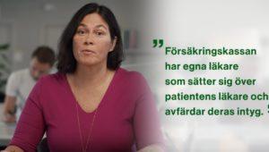 Informationsvideo (?) från Försäkringskassan.