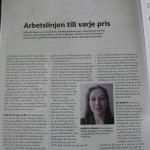 Solrosuppropet.se reagerar och publiceras