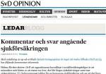 Solrosuppropets Monica Armini svarar Rivière på SvD
